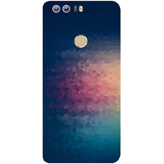 GripIt Zoom In Printed Case for Huawei Honor 8