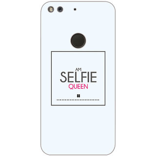 GripIt Selfie Queen Printed Case for Google Pixel