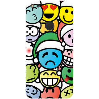 GripIt Different Smiles Printed Case for Google Pixel
