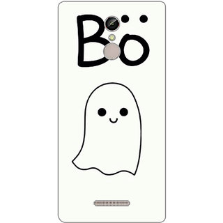 GripIt Boo Printed Case for Gionee S6s