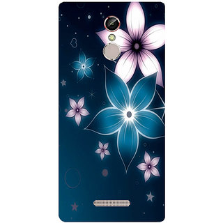 GripIt Shining Flower Printed Case for Gionee S6s