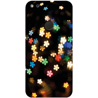 GripIt Falling Flowers Printed Case for Google Pixel