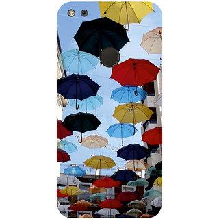 GripIt Umbrellas Printed Case for Google Pixel
