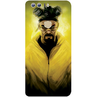 GripIt Breaking Bad Mr White Printed Case for Huawei Honor 8