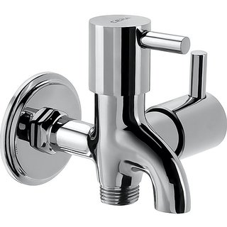 Cera Garnet Quarter Turn Fittings 2-Way Bib Cock (Chrome Finish)