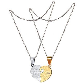 wife products gift valentine her future for day husband s pendant to necklace gold heart valentines