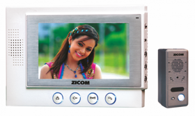 Zicom Handsfree Color Video Door Phone