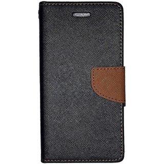 Samsung Galaxy J2 (2016)  Mercury Wallet Flip case Cover (BROWN)