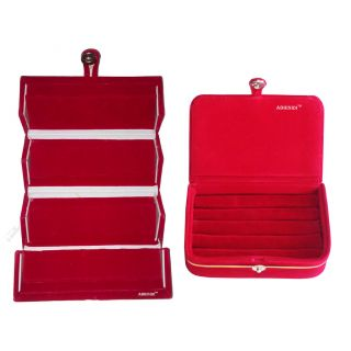 Abhinidi Combo Ear ring folder and Ear ring Box jewelry box