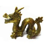 New Golden Dragon For Success In Carrier And Business- Feng Shi Item