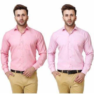 Austin-M Man's Formal Shirt Pack of 2