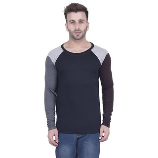 c6cd963d6178 Buy Kay Dee Creations Black Round Neck T-shirt Online   ₹399 from ...