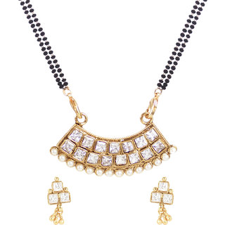 Jewels Ghena Trendy Party Wear Mangalsutra For Woman