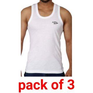 White color men vests combo pack