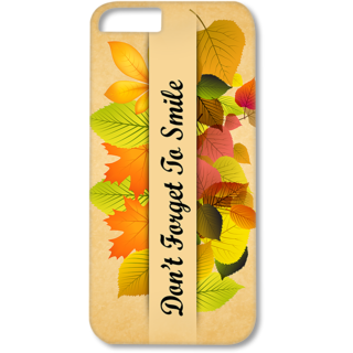 Iphone6-6s Plus Designer Hard-Plastic Phone Cover from Print Opera - Don't Forget To Smile