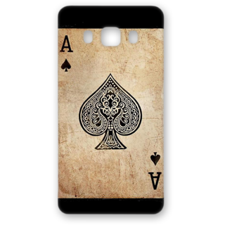 SAMSUNG GALAXY J5 Designer Hard-Plastic Phone Cover from Print Opera - Ace Of Spade