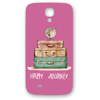 SAMSUNG GALAXY S4 Designer Hard-Plastic Phone Cover from Print Opera - Happy Journey