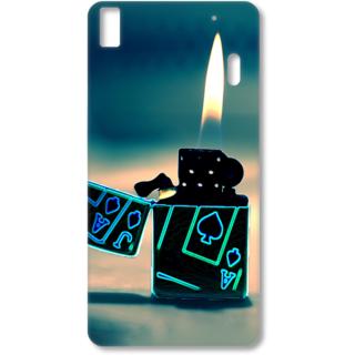 Lenovo K3 Note Designer Hard-Plastic Phone Cover from Print Opera - Lighter