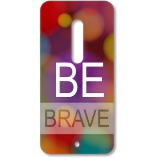 MOTO X Play Designer Hard-Plastic Phone Cover from Print Opera - Be Brave