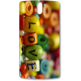 ONE PLUS ONE Designer Hard-Plastic Phone Cover from Print Opera - Love