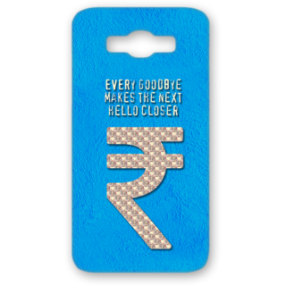 SAMSUNG GALAXY J7 Designer Hard-Plastic Phone Cover from Print Opera - Sign Of Rupee