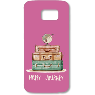 SAMSUNG GALAXY S6 Designer Hard-Plastic Phone Cover from Print Opera - Happy Journey