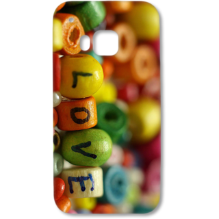 HTC One M9 Designer Hard-Plastic Phone Cover from Print Opera - Love