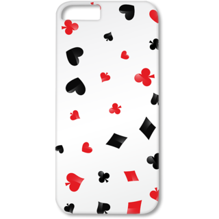 Iphone6-6s Plus Designer Hard-Plastic Phone Cover from Print Opera - Signs Of Cards