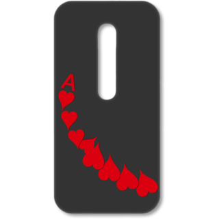 MOTO G3 Designer Hard-Plastic Phone Cover from Print Opera - A Of Heart