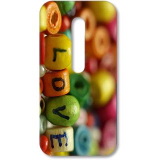 MOTO G3 Designer Hard-Plastic Phone Cover from Print Opera - Love