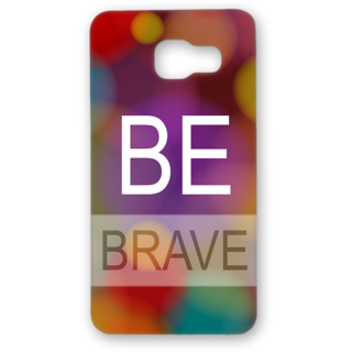 SAMSUNG GALAXY A5 Designer Hard-Plastic Phone Cover from Print Opera - Be Brave