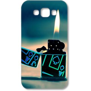 SAMSUNG GALAXY E7 Designer Hard-Plastic Phone Cover from Print Opera - Lighter