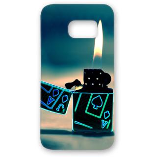 SAMSUNG GALAXY S7 Designer Hard-Plastic Phone Cover from Print Opera - Lighter