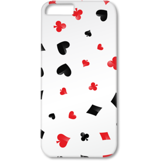 Iphone5-5s Designer Hard-Plastic Phone Cover from Print Opera - Signs Of Cards