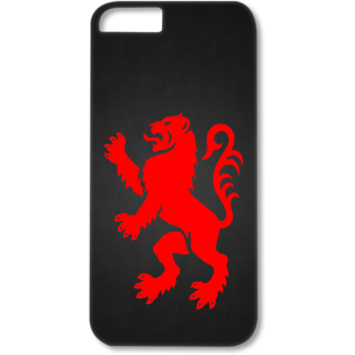 Iphone5-5s Designer Hard-Plastic Phone Cover from Print Opera - Artistic Lion