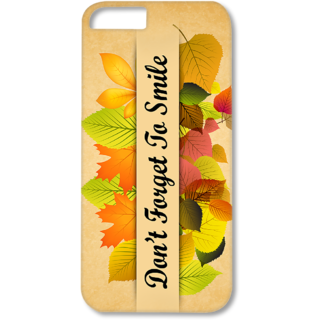 Iphone6-6s Designer Hard-Plastic Phone Cover from Print Opera - Don't Forget To Smile