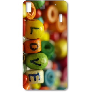 Lenovo K3 Note Designer Hard-Plastic Phone Cover from Print Opera - Love