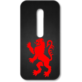 MOTO G3 Designer Hard-Plastic Phone Cover from Print Opera - Artistic Lion