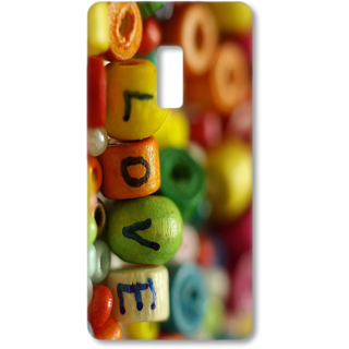 ONE PLUS Two Designer Hard-Plastic Phone Cover from Print Opera - Love
