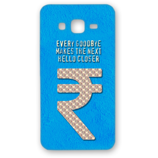 SAMSUNG GALAXY On 5 Designer Hard-Plastic Phone Cover from Print Opera - Sign Of Rupee