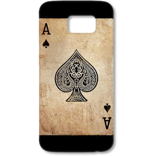 SAMSUNG GALAXY S6 Designer Hard-Plastic Phone Cover from Print Opera - Ace Of Spade