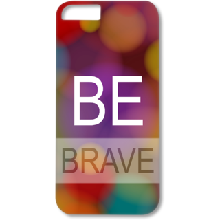 Iphone6-6s Designer Hard-Plastic Phone Cover from Print Opera - Be Brave