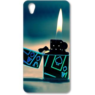ONE PLUS X Designer Hard-Plastic Phone Cover from Print Opera - Lighter