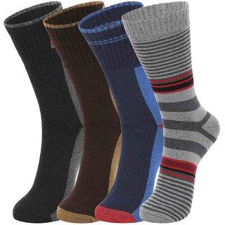 DUKK Multi Pack Of 6 Full Length Socks