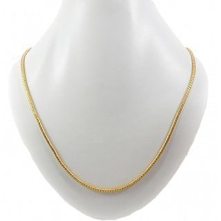 Guarantee Ornament House  Imitation Jewellery Designer Golden Fashion Necklace Chain GOH14