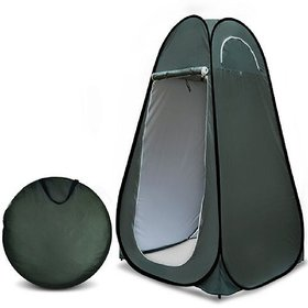 Traders5253  Camping Hiking Picnic Portable Cloth Pop-up Changing Tent - Green by Okayji