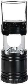 Traders5253 Solar Powered Lantern Chargeable Emergency Camping Light Lamp