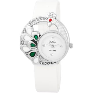 c491d1d86dc Buy Addic Analogue White Dial Women s Watch - Addicww341 Online - Get 60%  Off