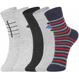 DUKK Multi Pack Of 5 Ankle Socks