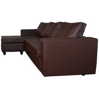 Catchy 4 Seater Leather Sofa